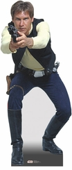 Han Solo from Star Wars Cardboard Cutout Life Size Standup