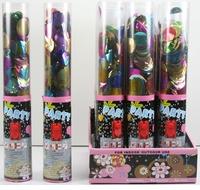 """Hearts, Circles, & Stars Popper 10"""" Case of 96 Pieces"""