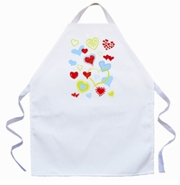Hearts Kids Apron