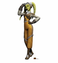 Hera Syndulla – Star Wars Rebels Cardboard Cutout Life SizeStandup