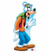 Holiday Goofy � Disney Limited Time Edition! Cardboard Cutout Life Size Standup