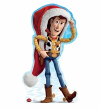 Holiday Woody � Disney Limited Time Edition! Cardboard Cutout Life Size Standup