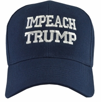 Impeach Trump Navy Blue Baseball Hat