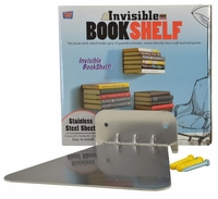 Invisible Bookshelf (Stainless Steel Sheet)