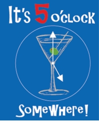 It's 5 o'clock Somewhere Apron