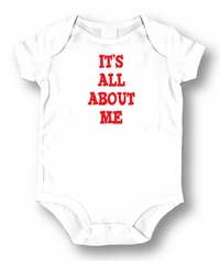 It's All About Me Attitude Romper/Onesie