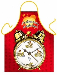 It's Always Time to Make Love Funny Apron