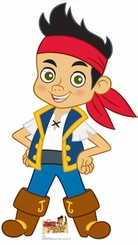 Jake and The Neverland Pirates Cardboard Cutouts Life Size Standups