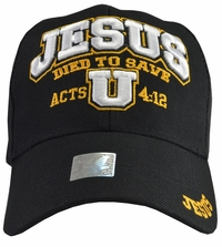Jesus Died To Save U Black Hat