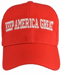 Keep America Great Red Baseball Hat
