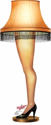 Leg Lamp from A Christmas Story Cardboard Cutout Life Size Standup