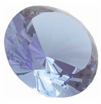 Light Purple 3.15 Inch Diamond 80mm