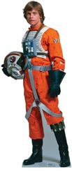 Luke Skywalker Rebel Pilot from Star Wars Cardboard Cutout Life Size Standup