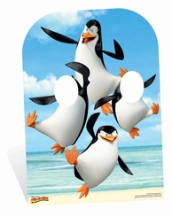 Madagascar Penguin Stand-In Cardboard Cutout Life Size Standup
