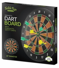 Magnetic Dart Board With Safety Darts