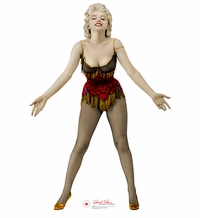 Marilyn Monroe 2 � Bus Stop Cardboard Cutout Life Size Standup