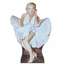 Marilyn Monroe from the Seven Year Itch Cardboard Cutout Life Size Standup