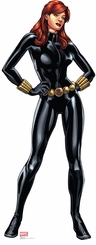 Marvel's Black Widow from The Avengers Assemble Cardboard Cutout Life Size Standup
