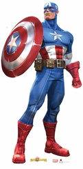 Marvel's Captain America Cardboard Cutout Life Size Standup