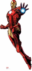 Marvel's Iron Man from Avengers Assemble Cardboard Cutout Life Size Standup