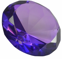 Medium Purple 3.15 Inch Diamond 80mm (Color painted)