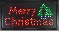 Merry Christmas LED Wall Sign
