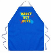Messy But Cute Kids Apron