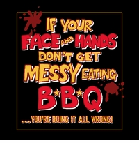 Messy Eating BBQ Apron