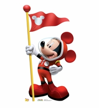 Mickey In Space Cardboard Cutout Life Size Standup