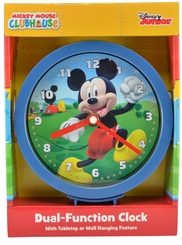 "Mickey Mouse Clubhouse 6"" Dual-Function Clock"