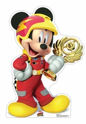 Mickey Trophy (Disney's Roadster Racers) Cardboard Cutout Life Size Standup