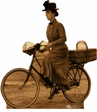 Miss Gulch on Bike from The Wizard of Oz Cardboard Cutout Life Size Standup