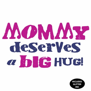 Mommy Deserves a Big Hug Maternity Nightshirt - Click to enlarge