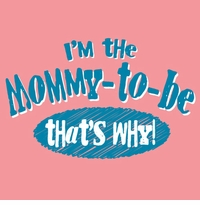 Mommy-To-Be That's Why Maternity Nightshirt