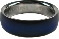 Mood Ring - Plain Silver - FREE SHIPPING