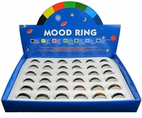 Mood Rings, plain, (Box of 36)