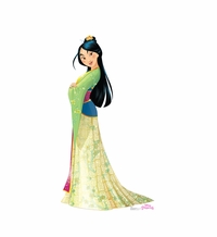 Mulan � Friendship Adventures Cardboard Cutout Life Size Standup