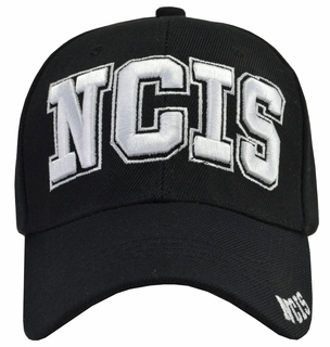 NCIS Hat Black - Click to enlarge