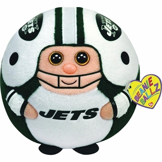 New York Jets Ty Beanie Ballz Large size 13