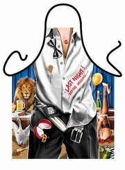 The Last Night Funny Novelty Apron