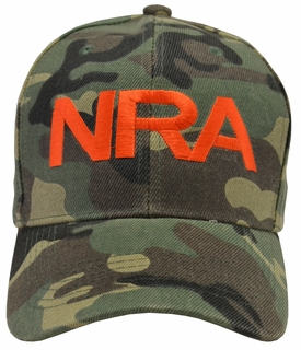 NRA Camouflage Hat - Click to enlarge