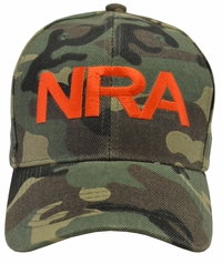 NRA Camouflage Hat