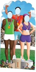 Olympic Games Cardboard Cutout Life Size Stand-In
