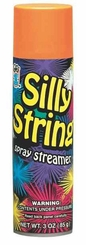 Orange Silly String 3oz Can Made in the USA