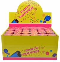 "Party Confetti Popper - Spring Loaded 4"" Inch (24 Pack) Sale"