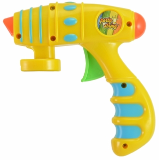 PARTY STRING YELLOW BLASTER GUN (3 PACK) - Click to enlarge