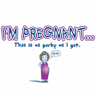 Perky Maternity Nightshirt - Click to enlarge