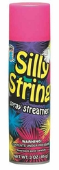 Pink Silly String 3oz Can Made in the USA
