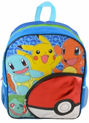 "Pokemon 16"" Pokeball Front Pocket Backpack"