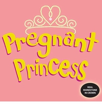 Pregnant Princess Maternity Nightshirt